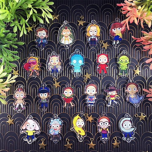 Pocket Mortys - Pocket Morty Charms