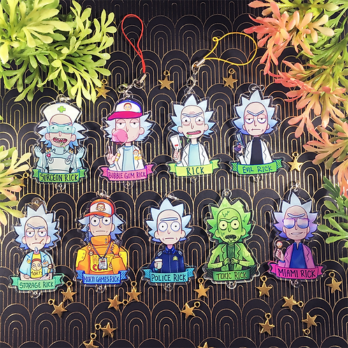 Trainer Ricks - Pocket Morty Charms