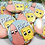 "Thumbnail: Spongebob Pop Team Epic 2.25"" Circle Pinback button"