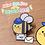 "Thumbnail: Deliver-Bee Enamel Pin 1.4"""