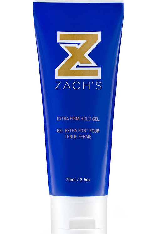Zach's Wax Extra Firm Hold Clear Gel