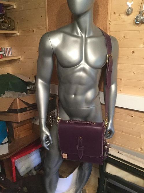 The purple satchel