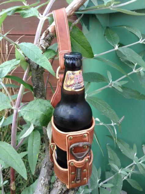 Beer bottle belt bandit