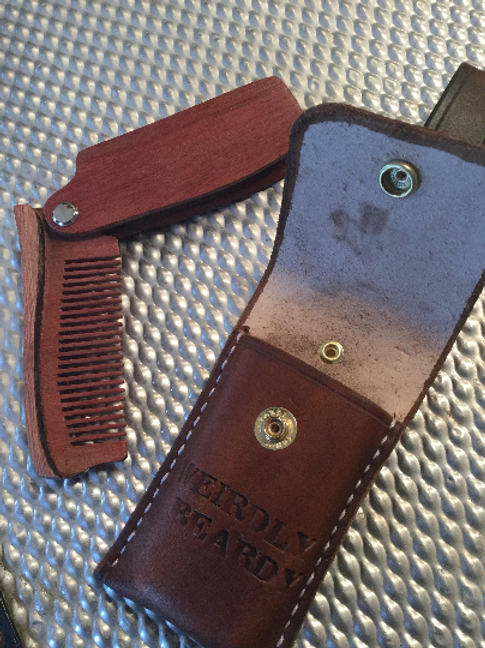 'Weirdly beardy' beard taming comb