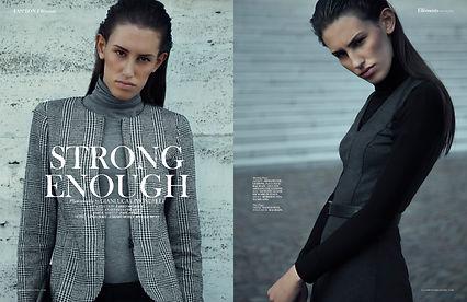 L'editoriale Strong Enough di Gianluca Limongelli - Ellèments Magazine