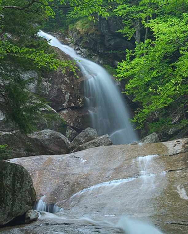 Bridal Veil Falls Trail~ White Mountains