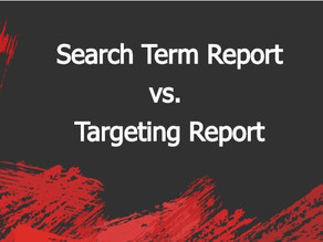 What's the difference between the Search Term Report and the Targeting Report?