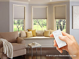 Lutron Shades, Lutron Products, Automatic Shades
