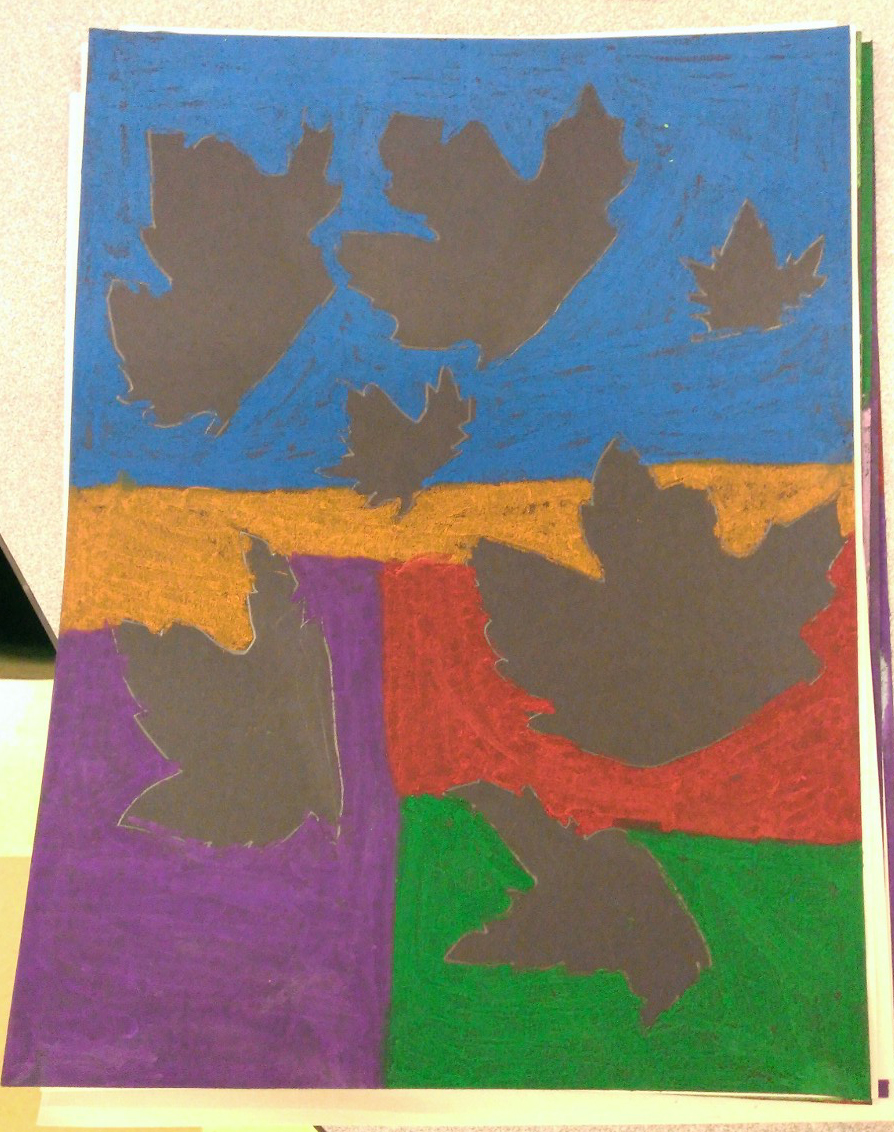 5th Grade - Negative Space