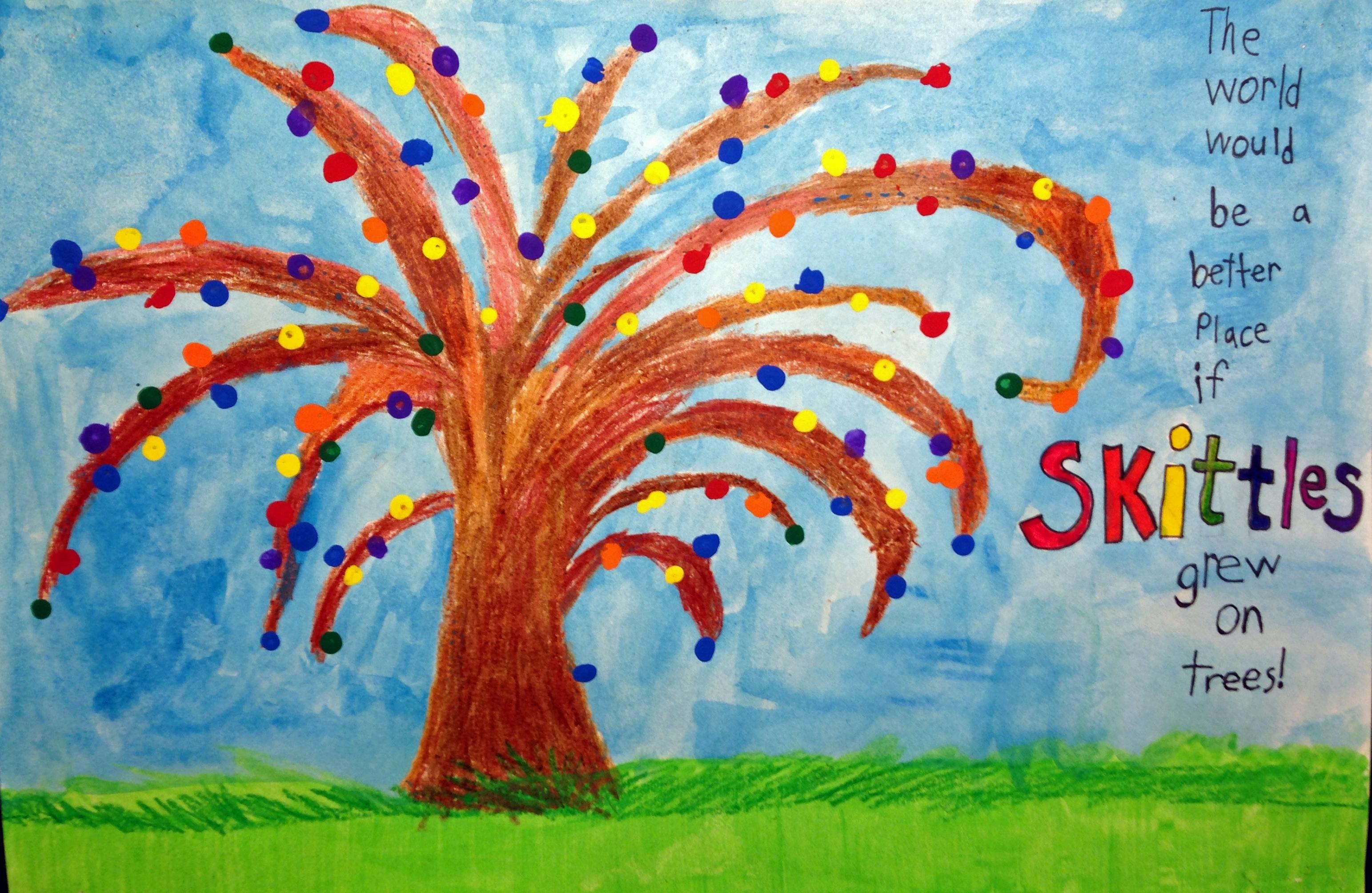 """Kyle S. """"Skittles Tree"""""""