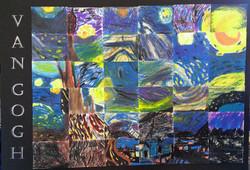 4th Grade - Van Gogh Collage