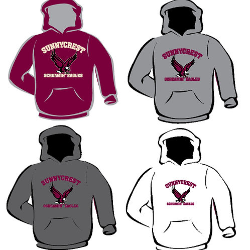 Hooded Sweatshirts (Adult Sizes)