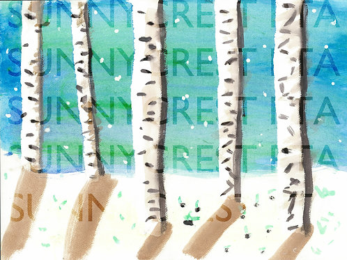 Mr. Brandt's Class - Emera (Birch Trees)