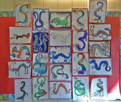 4th Grade - Chinese Dragons