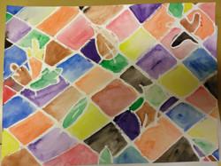 5th Grade - Oil Pastel Resist