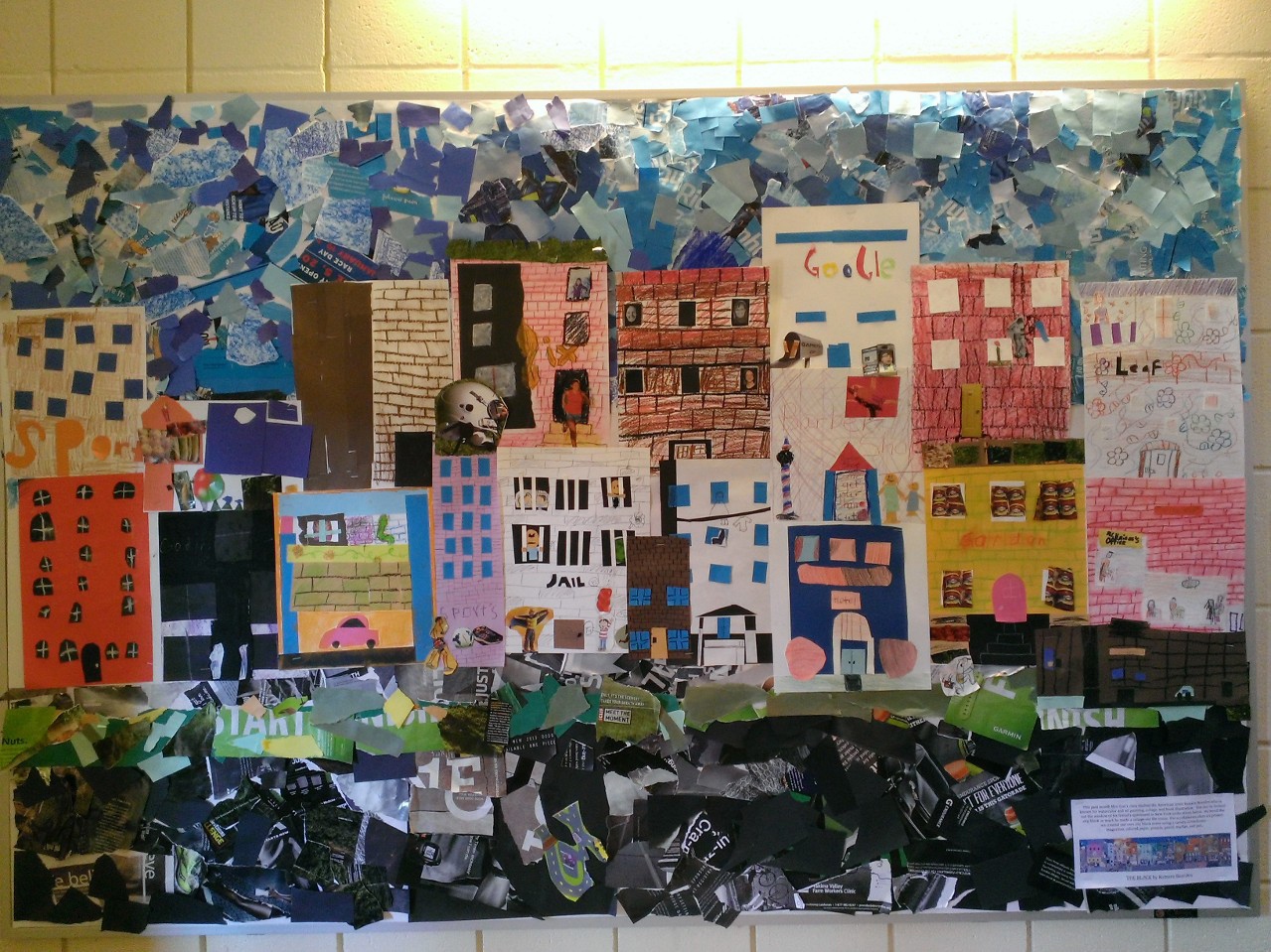 4th Grade - Romare Bearden Collage
