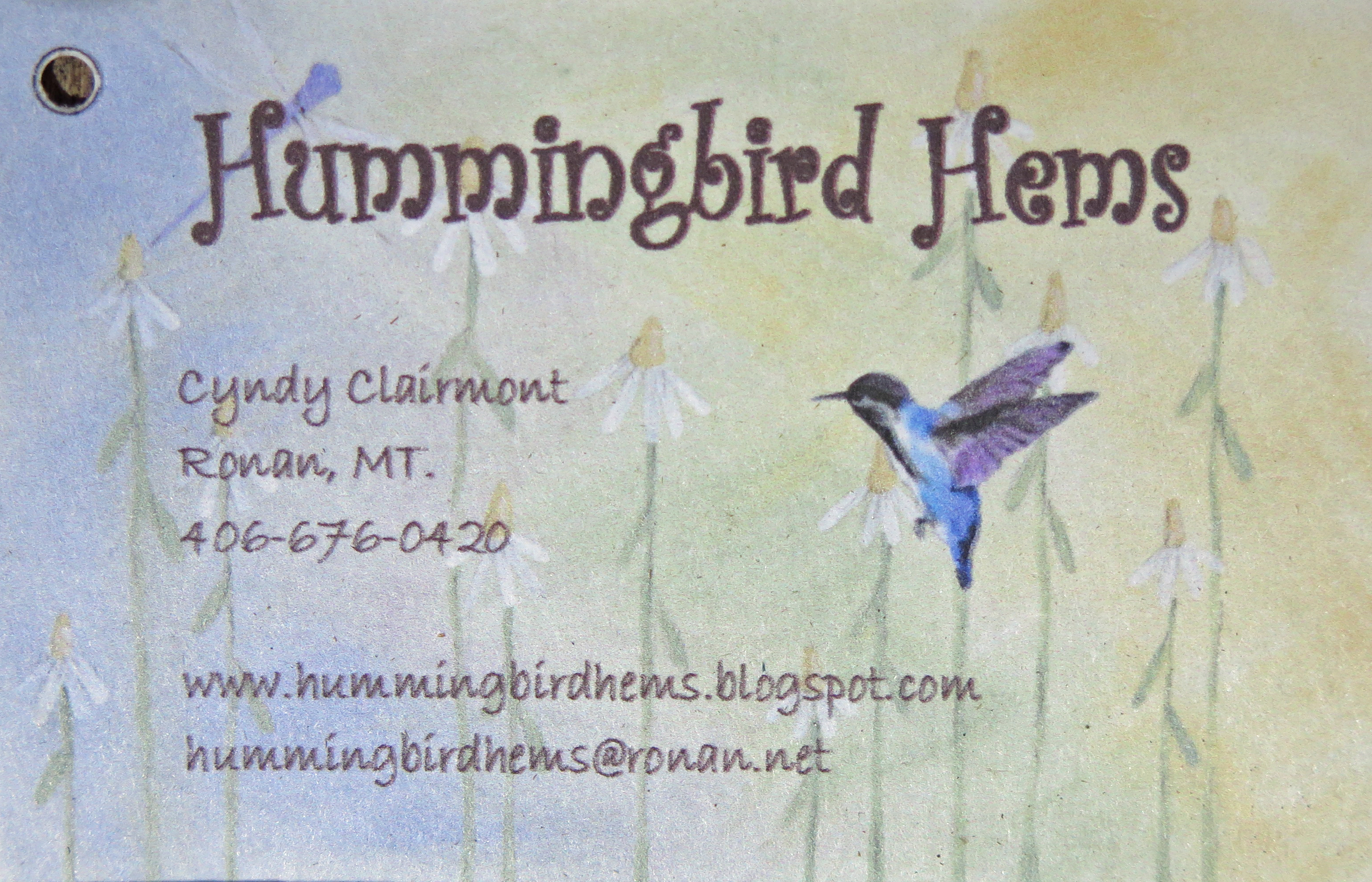 Hummingbird Hems