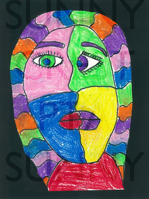 Mr. Brandt's Class - Maraida (Picasso Faces)