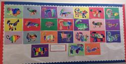 Kindergarten - Watercolor Chameleons
