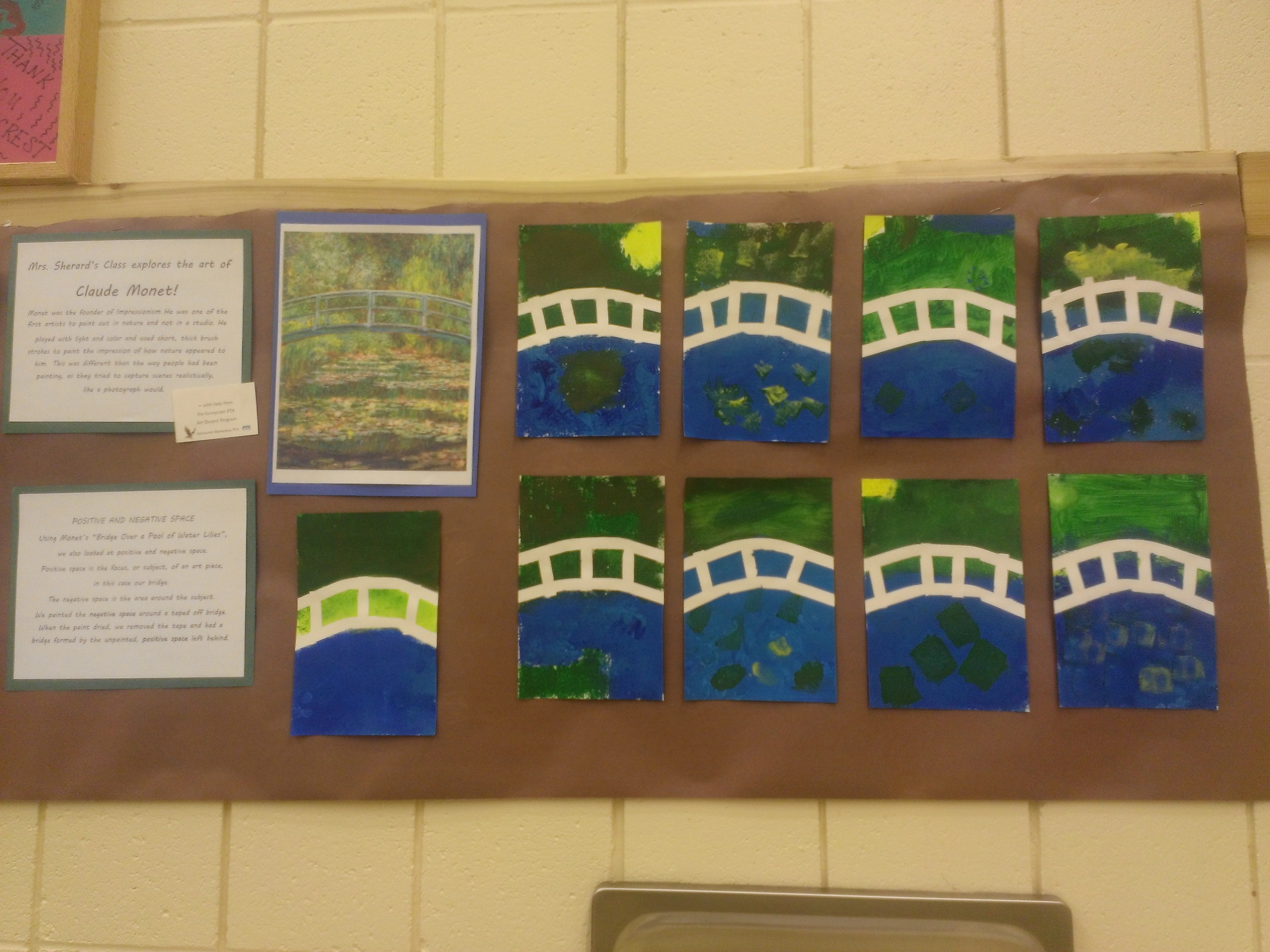 2nd Grade - Monet Bridge