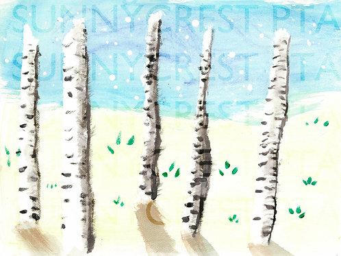 Mr. Brandt's Class - Kendall (Birch Trees)