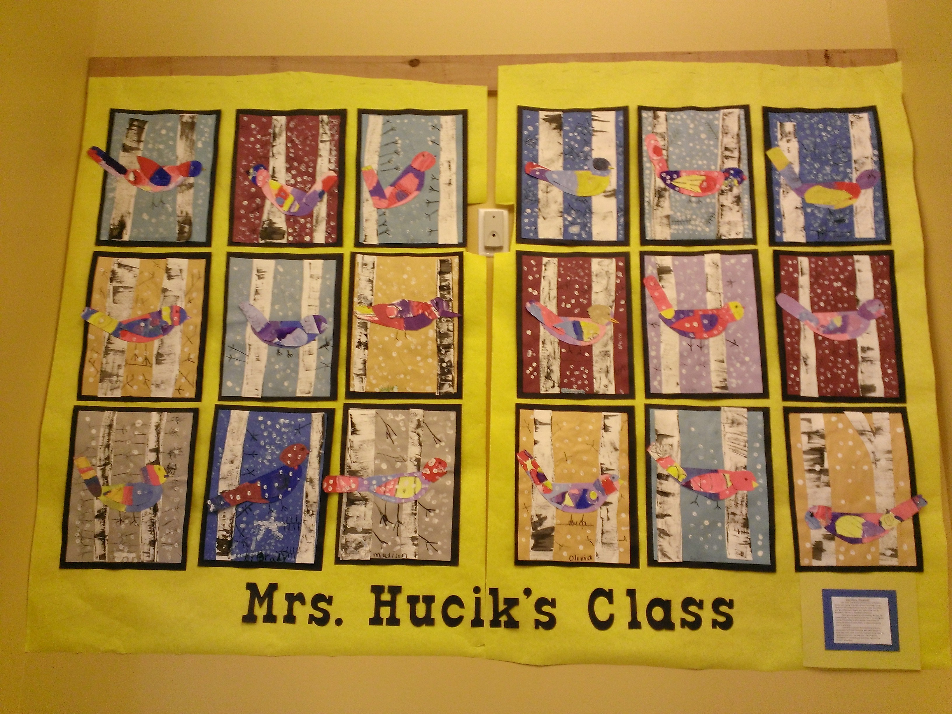 3rd Grade - Collage