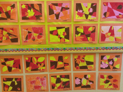 3rd Grade - Fall leaves and color