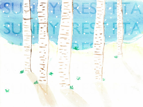 Mr. Brandt's Class - Kaya (Birch Trees)