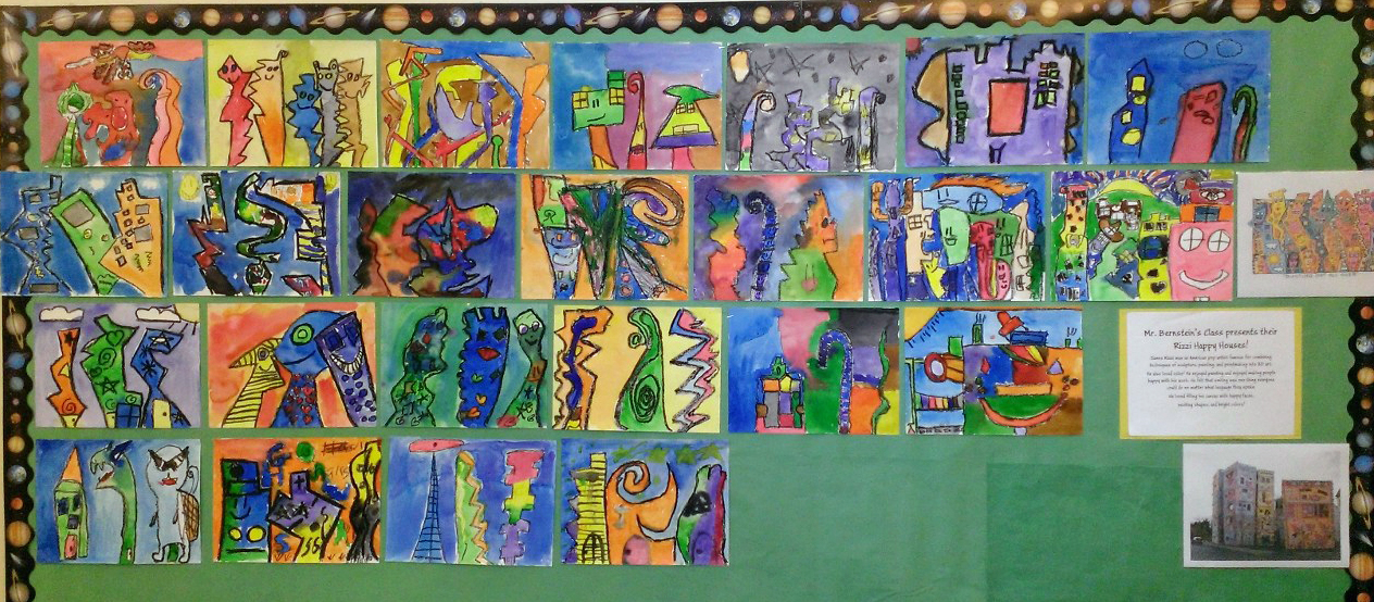4th Grade - James Rizzi Houses
