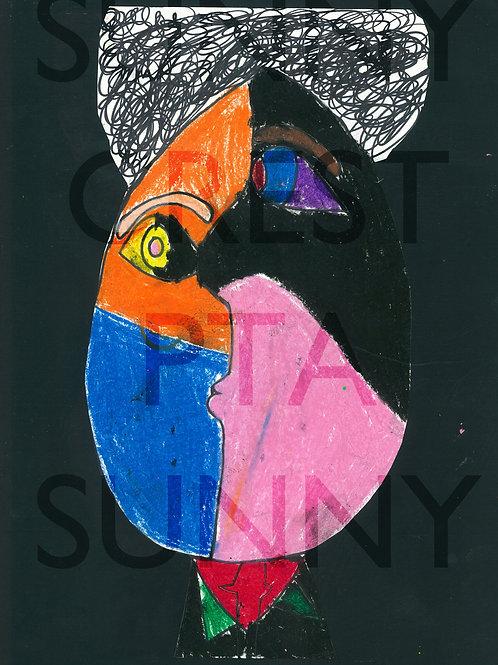 Mr. Brandt's Class - Landon (Picasso Faces)