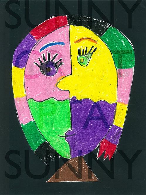 Mr. Brandt's Class - Alyssa (Picasso Faces)