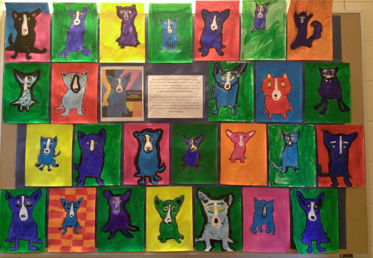 5th Grade - Blue Dog