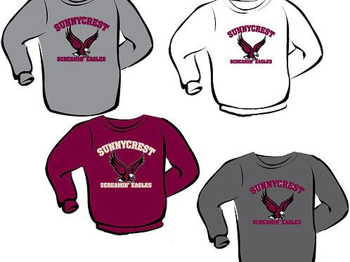 Crewneck Sweatshirt (Larger Adult Sizes)