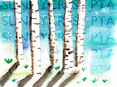 Mr. Brandt's Class - Ryan V (Birch Trees)