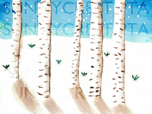 Mr. Brandt's Class - Maraida (Birch Trees)