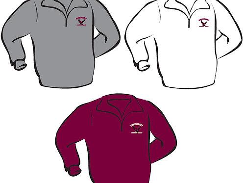 1/4 Zip Sweatshirt (Larger Adult Sizes)