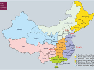 How Chinese Divide Its Marketplace According to Her Geographical Area ?