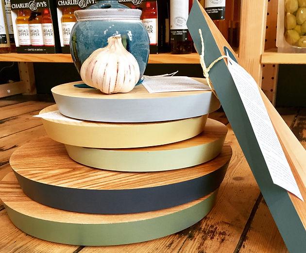 Storeroom Cheese & Chopping Boards