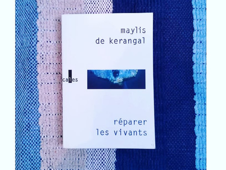 """Chronique """"Réparer les vivants"""" de Maylis de Kerangal"""