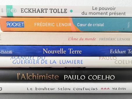 Des livres qui réveillent l'âme.