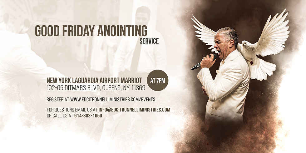 NEW YORK - Good Friday Anointing Service