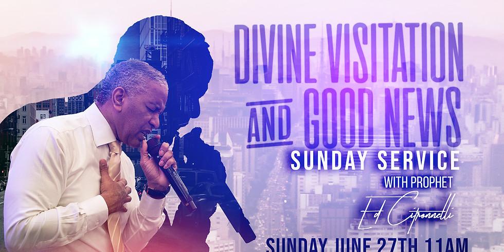 NEW YORK, NY - Divine Visitation & Good News Sunday Service