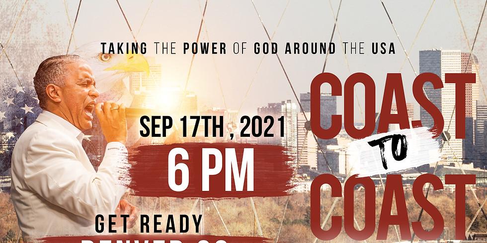 DENVER, CO - Coast to Coast Power Crusade