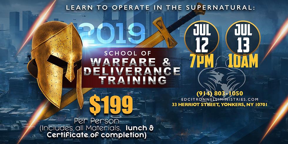 SWAT 2019 - SCHOOL OF WARFARE & DELIVERANCE TRAINING