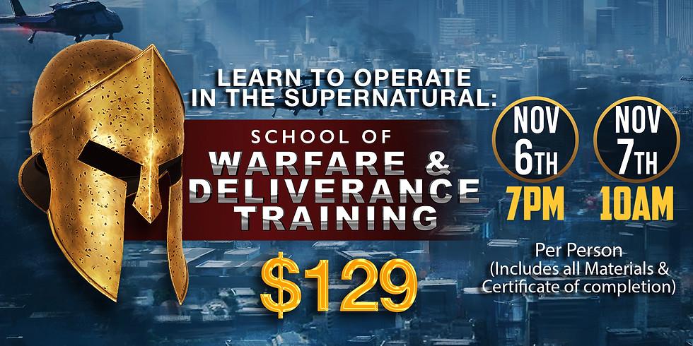 SCHOOL OF WARFARE AND DELIVERANCE TRAINING