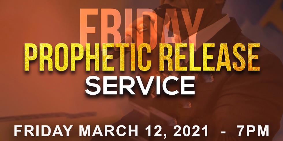 NEW YORK - Prophetic Release Service