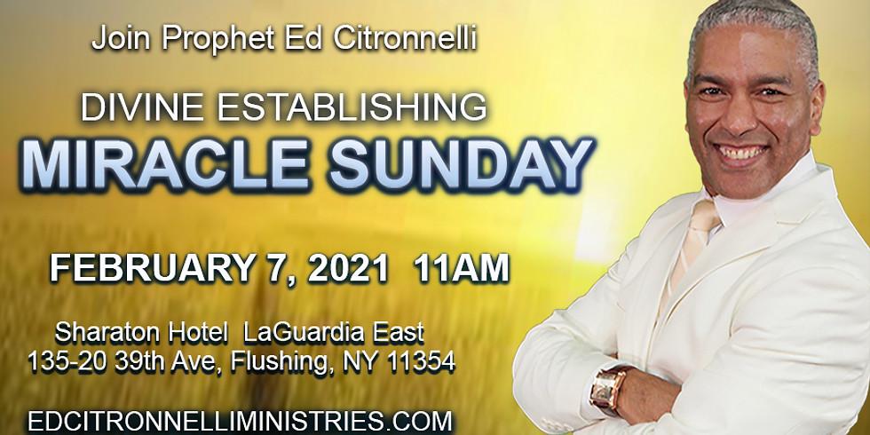 Divine Establishing Miracle Sunday (New York)