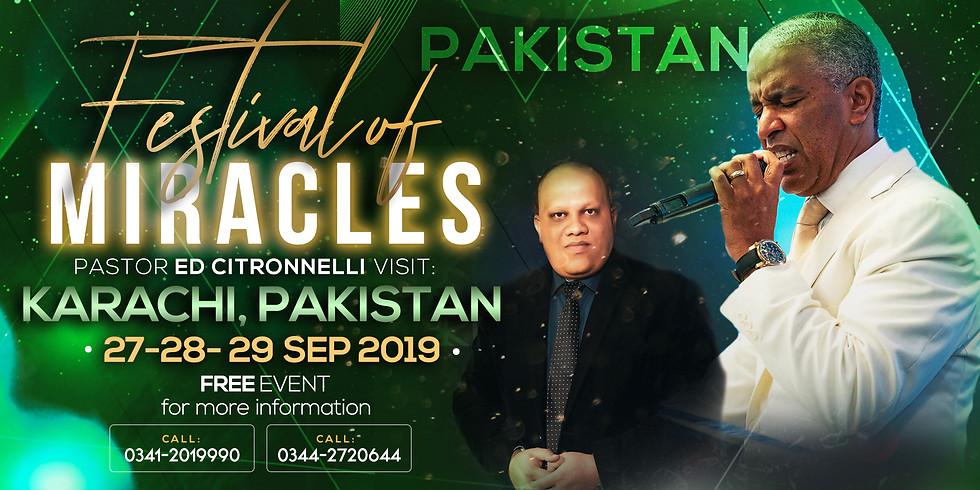 FESTIVAL OF MIRACLES - KARACHI, PAKISTAN