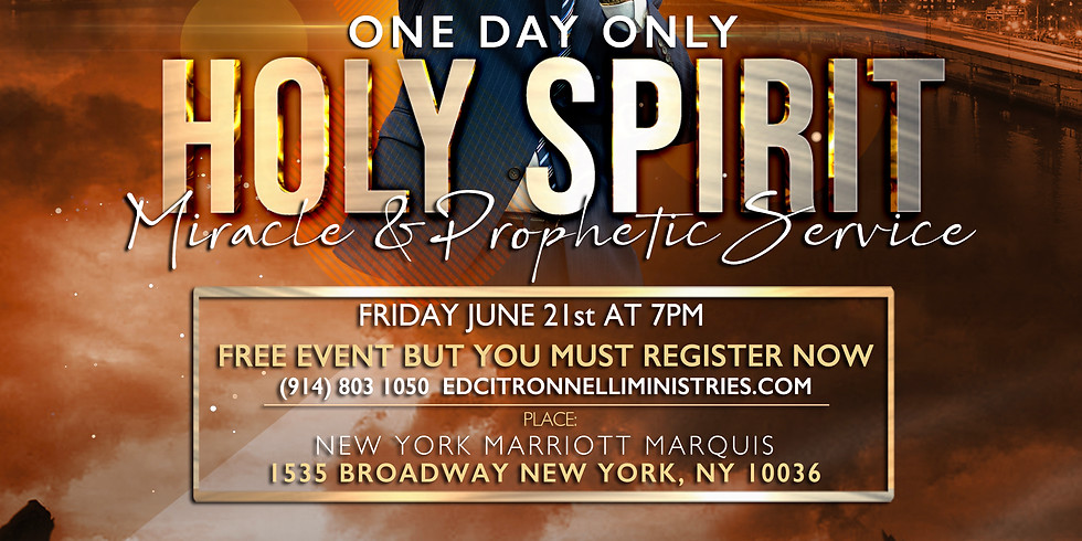 HOLY SPIRIT MIRACLE & PROPHETIC SERVICE