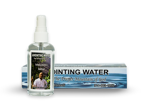 Anointing Water